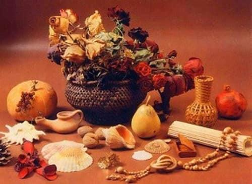 Природные материалы для декорирования интерьера