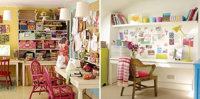 Как организовать порядок на рабочем столе дома