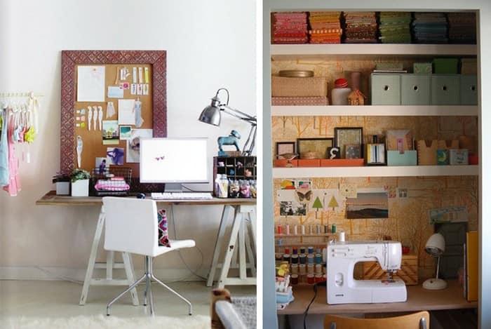 Рабочее место дома: организация порядка и хранения