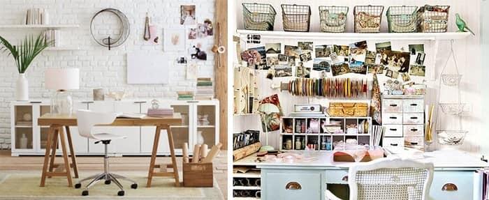 Идеи для хранения и порядка в домашнем офисе