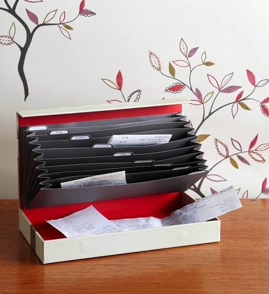 Хранение документов в домашнем офисе фото