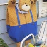 Пижамница медведь