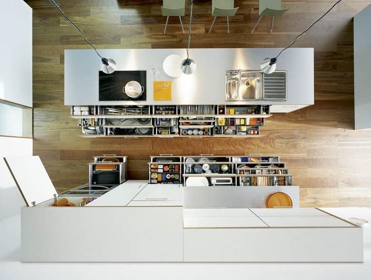 Порядок и хранение вещей на кухне: простые способы