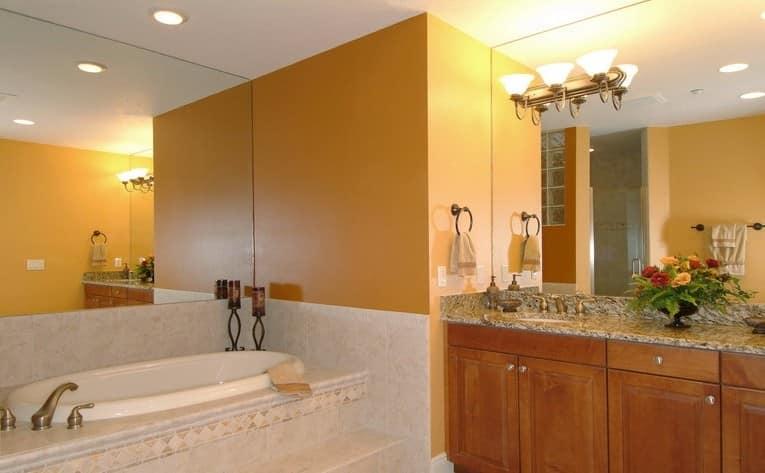 Освещение в ванной комнате: фото