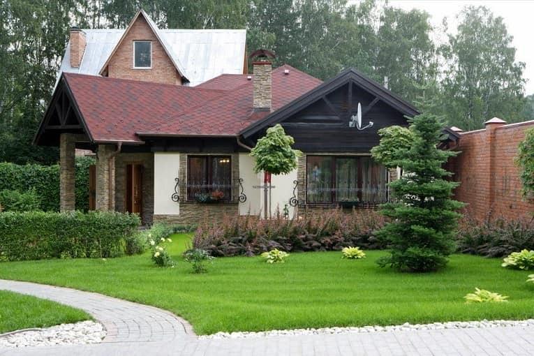 Современный загородный дом в английском стиле фото