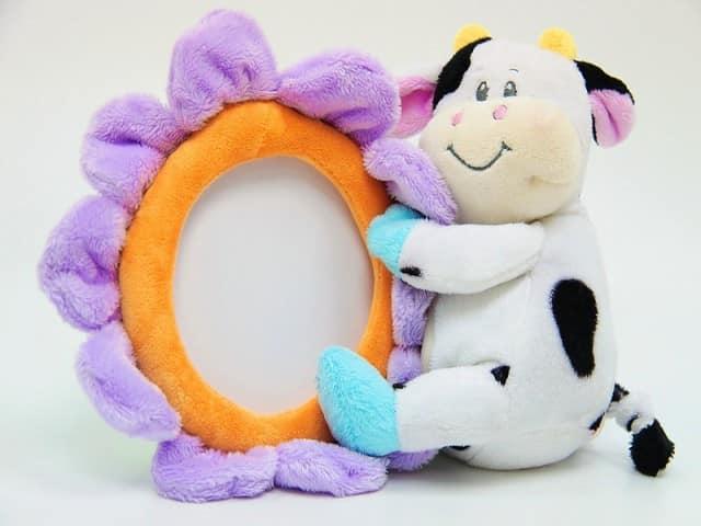 Фоторамка из мягкой игрушки своими руками - идея для подарка