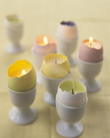 Такие элементы декора придадут ощущение со причастия к празднику Святого Воскресения