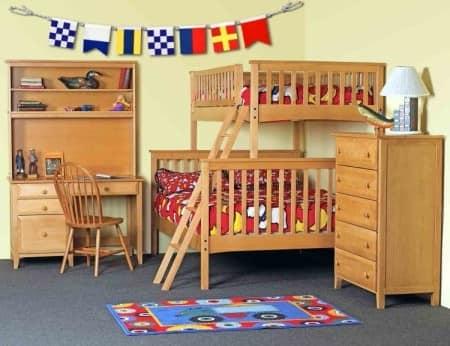 Двухспальная кровать для двоих детей - мебель для однокмнатной