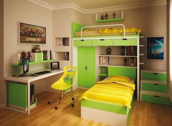 Мебель для детского уголка в однокомнатной квартире