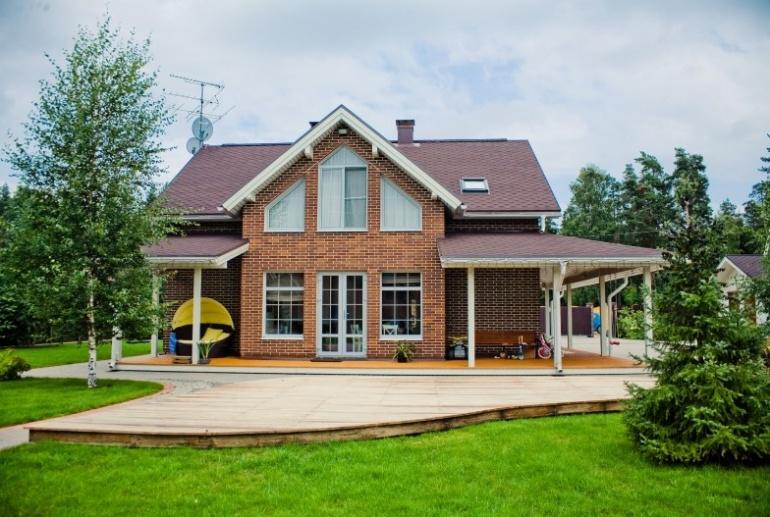 Современная интерпретация загородного дома в английском стиле