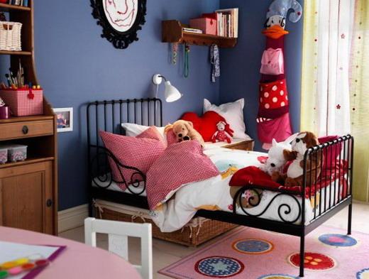 Кованая кровать в детской