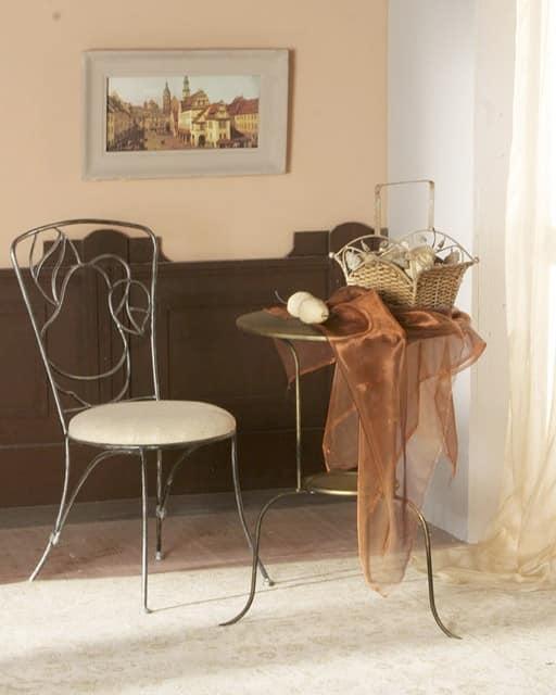"""Кованый стул """"Груша"""" = украшение интерьера"""