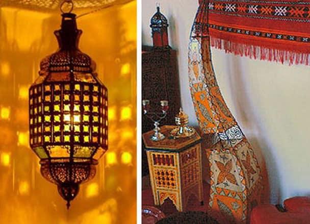 Кованый фонарь в марокканском стиле