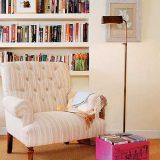 Книжный стеллаж и журнальный столик для книг
