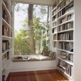 Библиотека и отдельное место для чтения