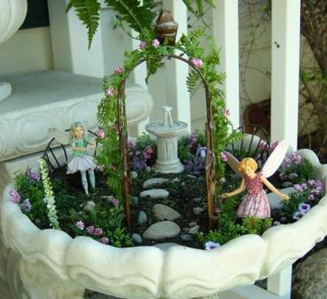 Мини сад своими руками фото