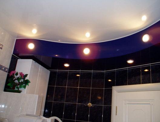 Освещение в интерьере ванной