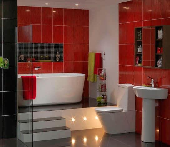 Декоративное освещение ванной комнаты