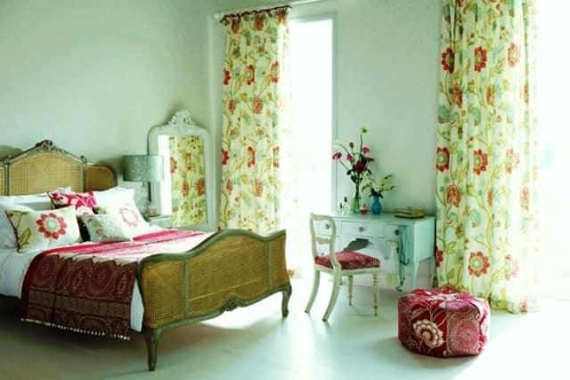 Выбираем шторы для весеннего декора фото