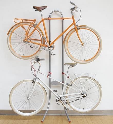 Стойка для хранения велосипедов на балконе