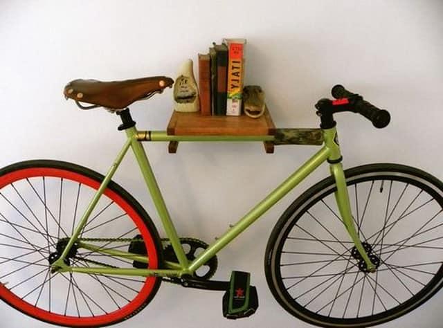Хранение велосипеда на балконе или лоджии.