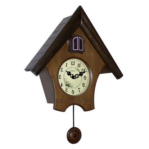 Часы с кукушкой для интерьера гостиной в деревенском стиле кантри