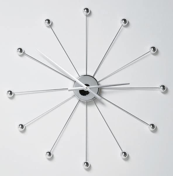 Часы в стиле хай тек