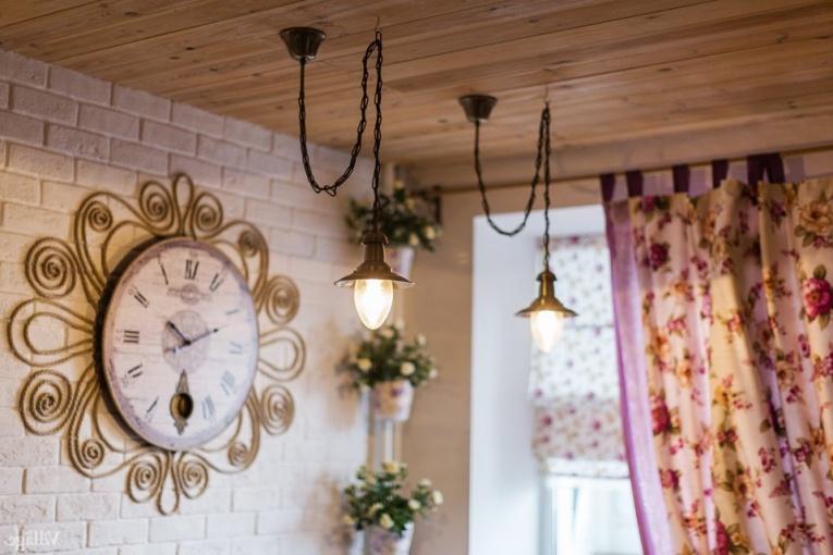 Часы которые подойдут на кухню в винтажном стиле