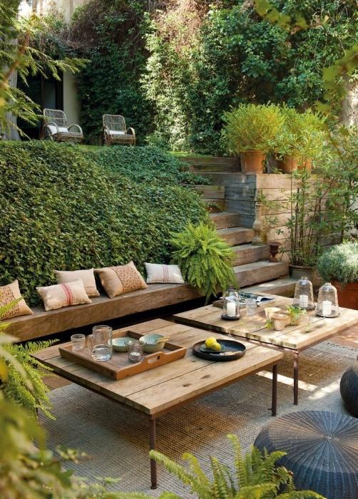 100 Лучших Идей! Садовая мебель своими руками (фото) 54