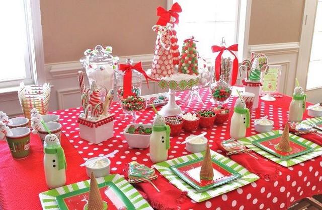 Сервировка стола для детского праздника