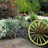 Колесо для кантри сада