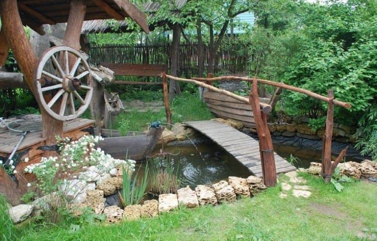 Как сделат сад в стиле кантри фото