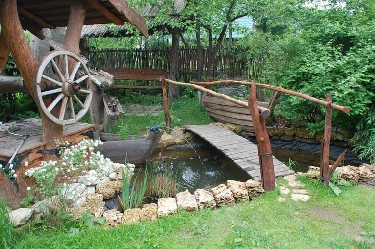 Как сделать сад в стиле кантри фото