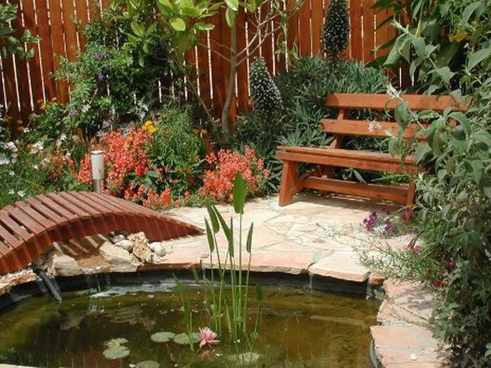 Уютный садовый участок своими руками фото