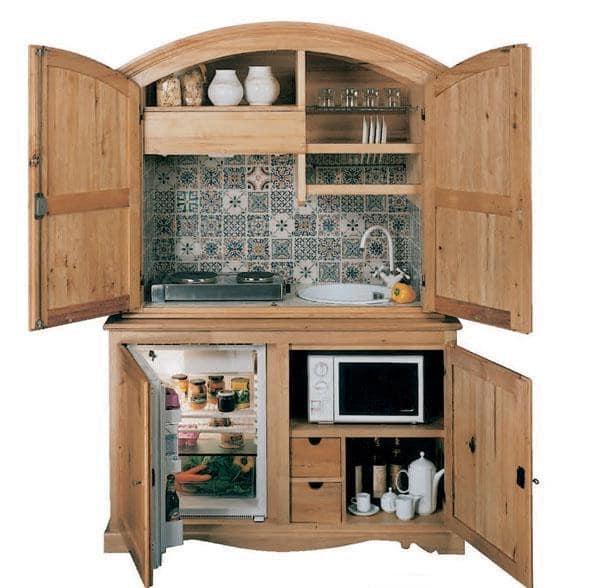 Мини-кухня своими руками