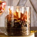 Осенние дары природы в вазе