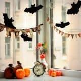 Украшаем подоконник к Хэллоуину
