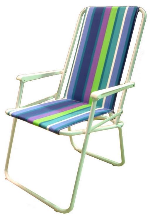 Шезлонг - удобная мебель для пикника