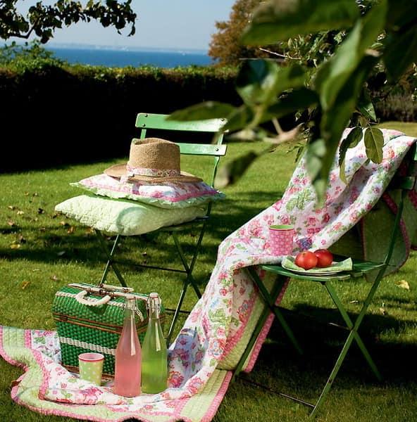 Аксессуары для пикника в романтическом стиле