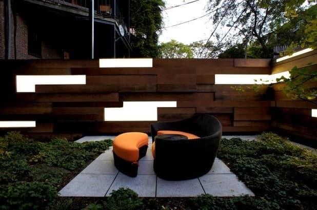 Плетеная мебель для уютного уголка отдыха на улице фото