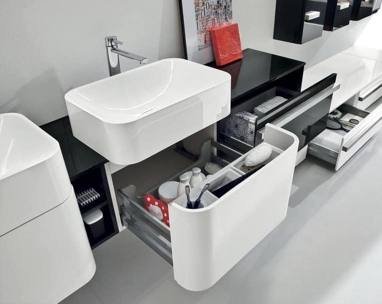 Организация хранения вещей в ванной комнате фото