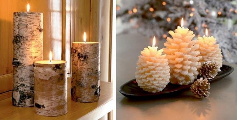Как украсить подоконник свечами: уютное освещение