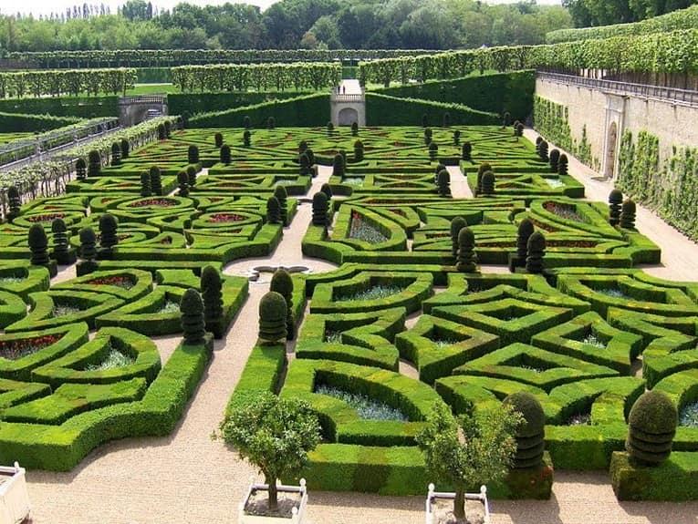 Топиарные сады в виде лабиринтов