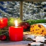 Свечи для новогоднего декора