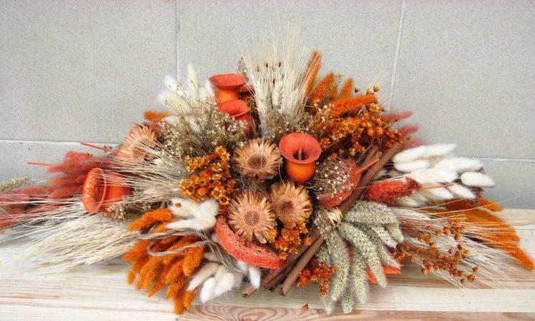 Сухоцветы в интерьере: как украсить сухими цветами дом фото