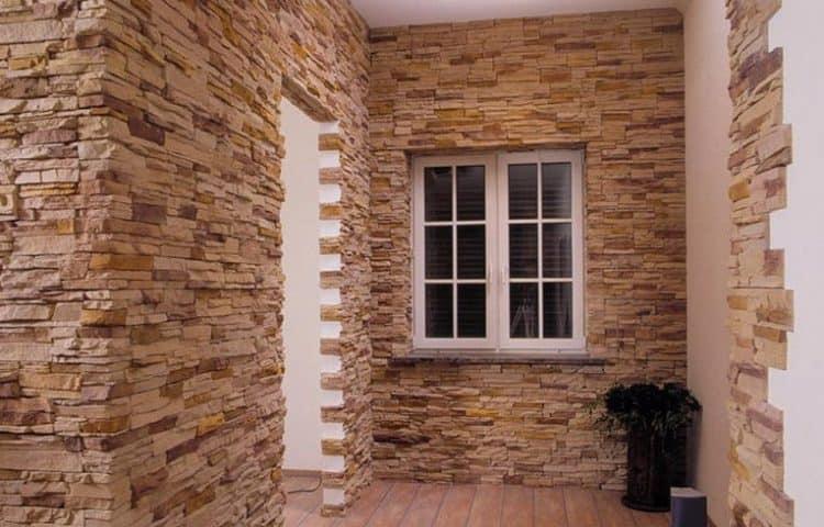 Искусственный камень в интерьере прихожей (20 фото) искусственный камень в интерьере