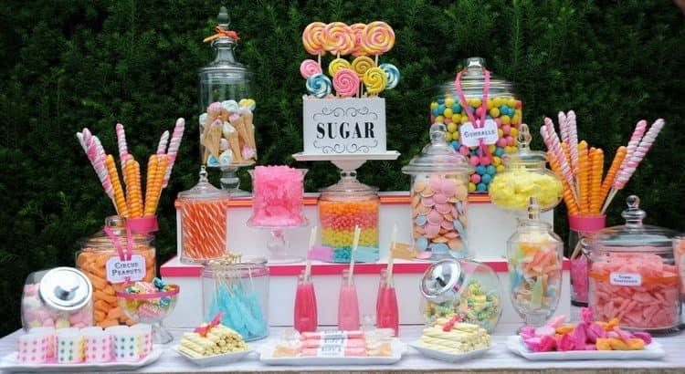 Сладкий стол на детский праздник фото