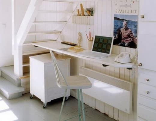 Стол для компактного домашнего офиса