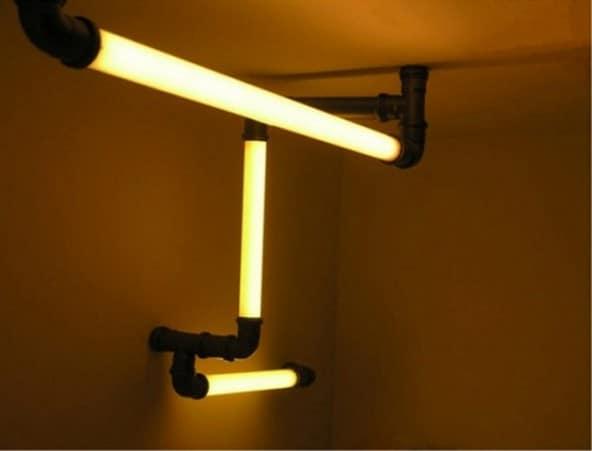 """Типичный """"индастриал"""" светильник"""