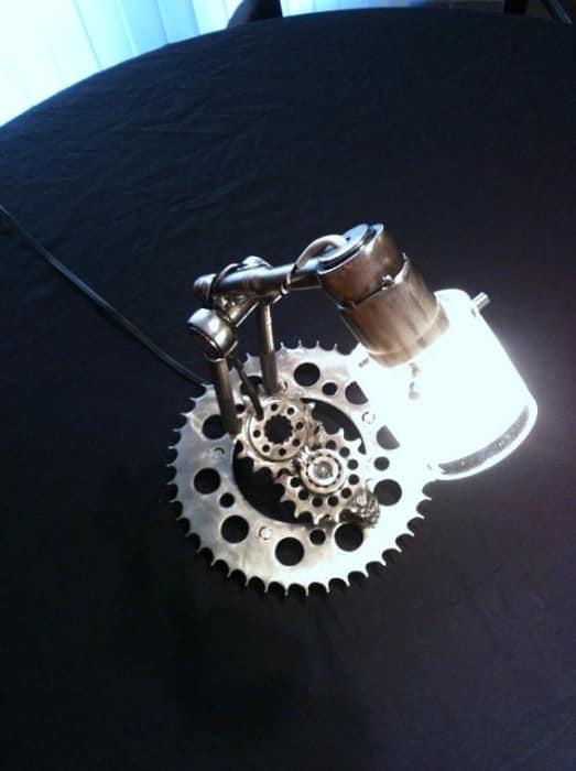 Ограничение при создании светильников в индустриальном стиле проявляется только в полете фантазии